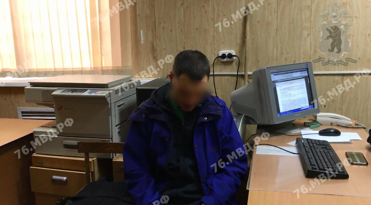 Полицейские задержали вандалов, изуродовавших здания в центре Рыбинска