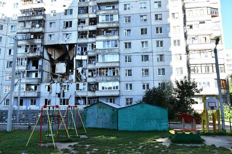 В ближайшее время эксперты определят, что делать с домом, пострадавшим от взрыва газа