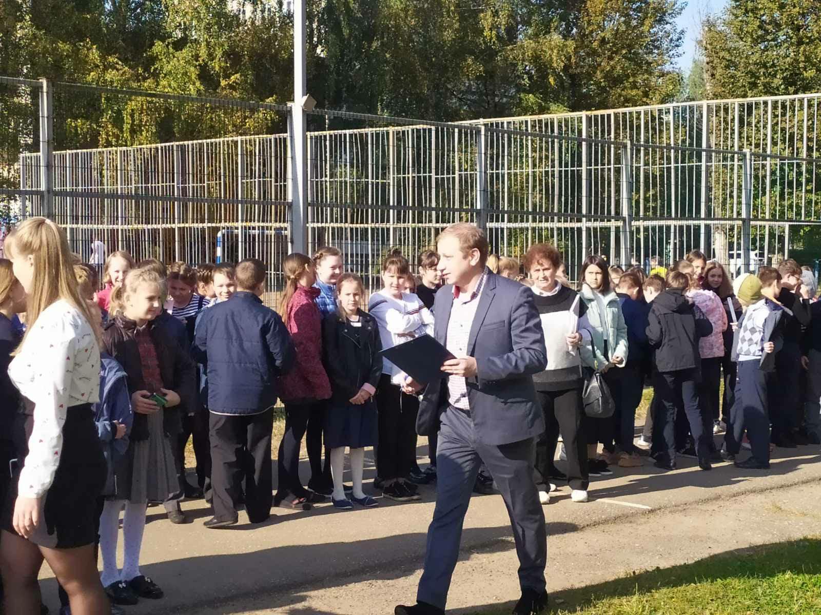 В Ярославле экстренно эвакуировали учащихся и сотрудников школы в Заволжском районе