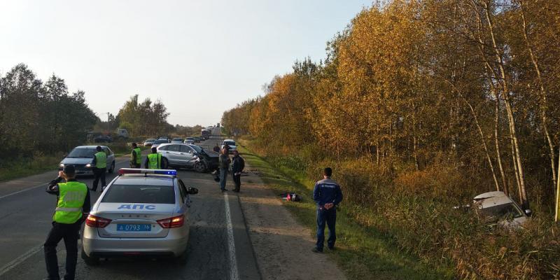 В Ярославской области в ДТП погиб ребенок