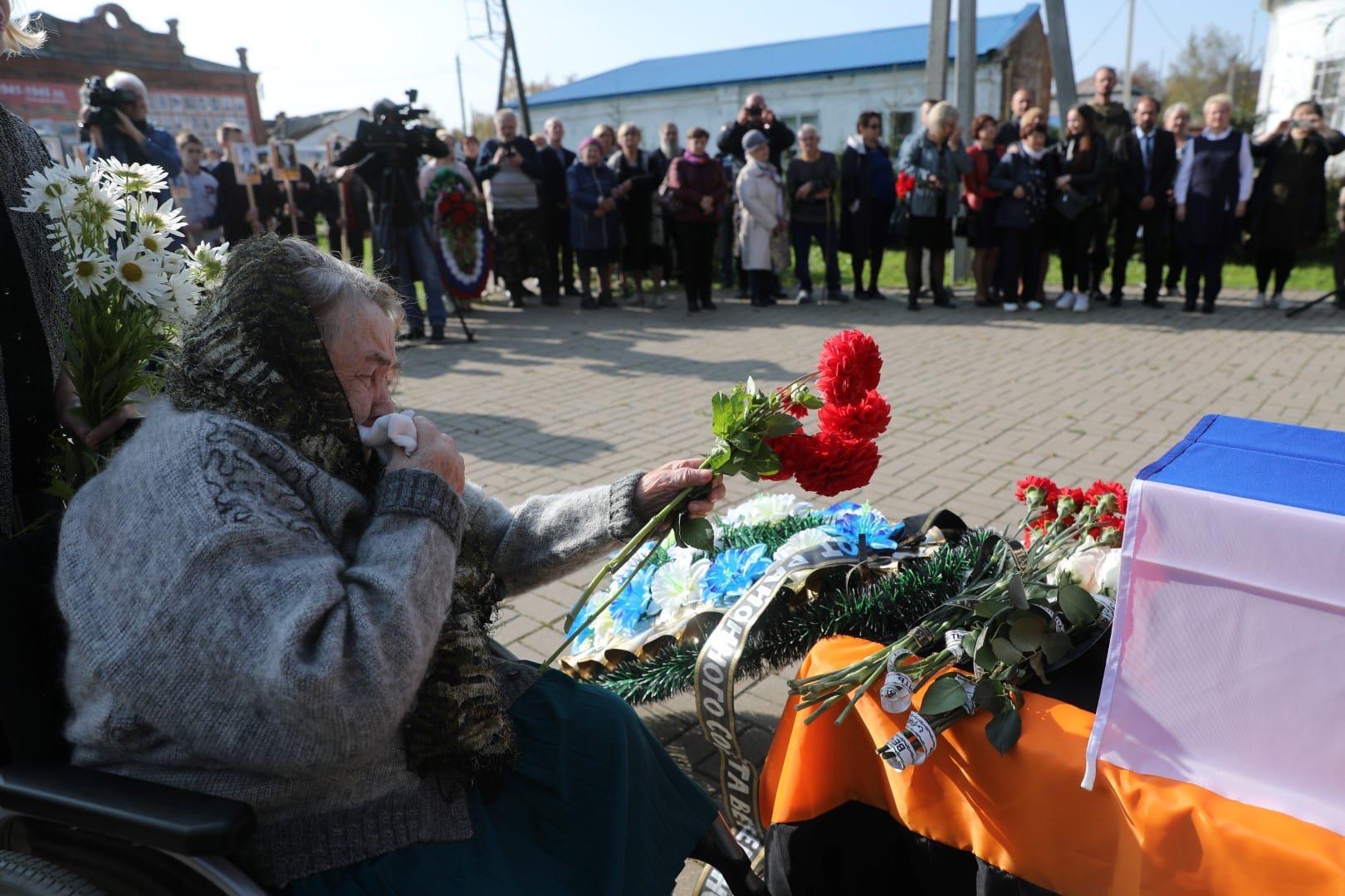 Дмитрий Миронов: на ярославской земле похоронили красноармейца Федора Киселева
