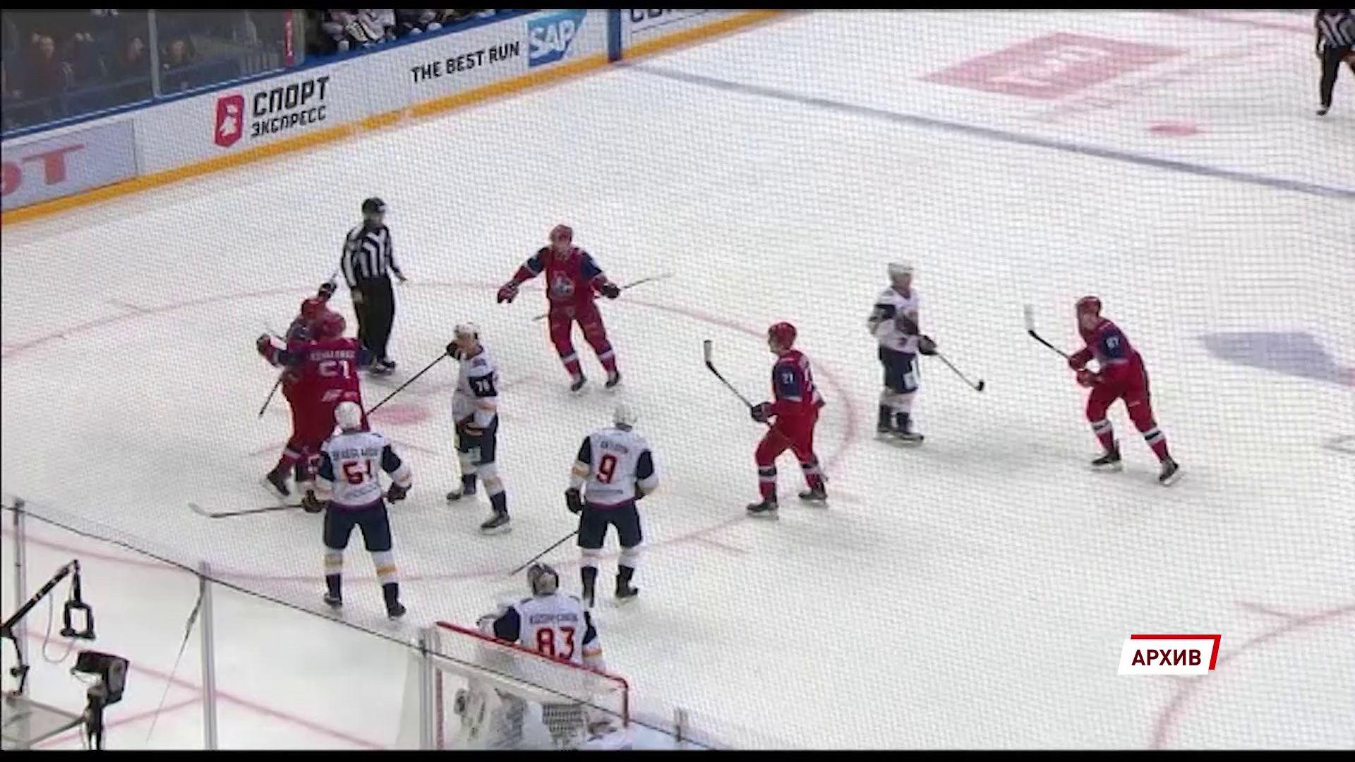 «Локомотив» готовится к очередному матчу в чемпионате КХЛ