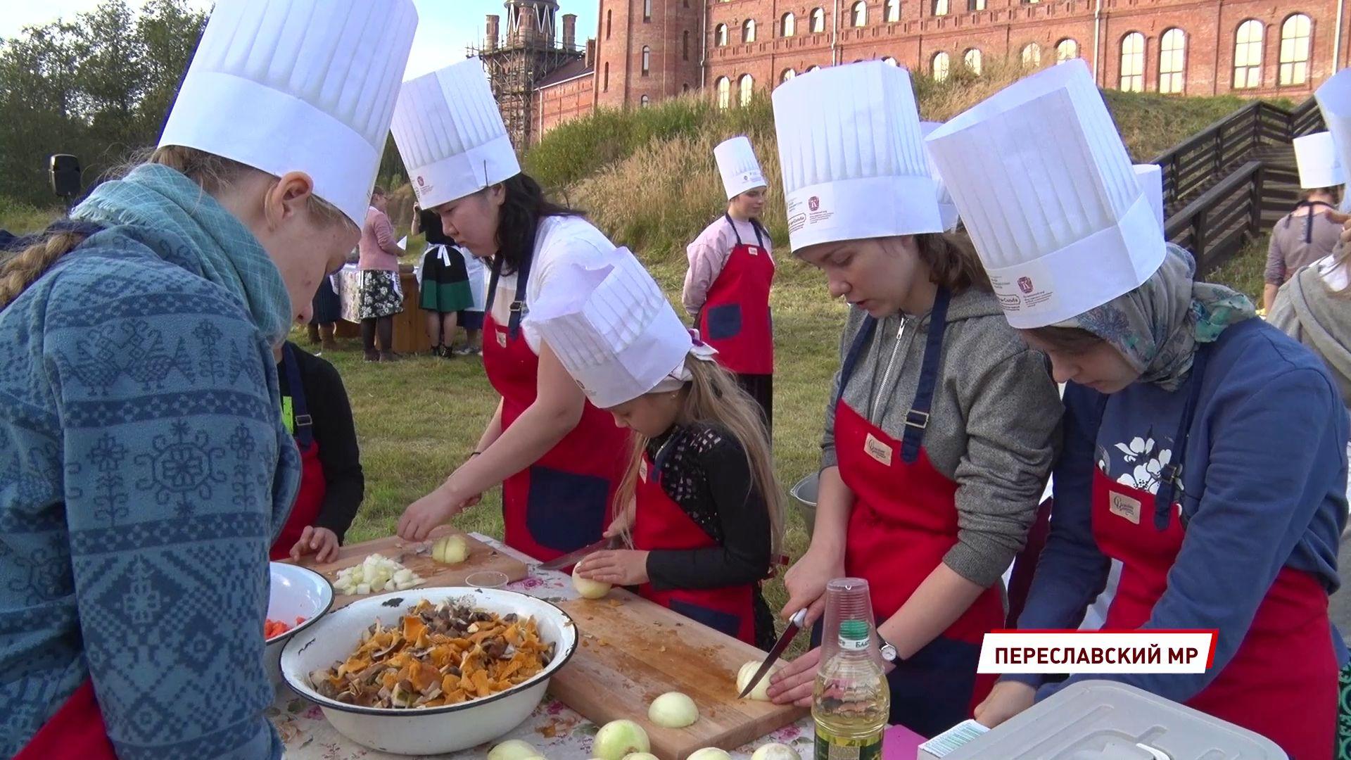 На реке Сольбе прошел кулинарный мастер-класс «Эко-ужин: Дары осени»