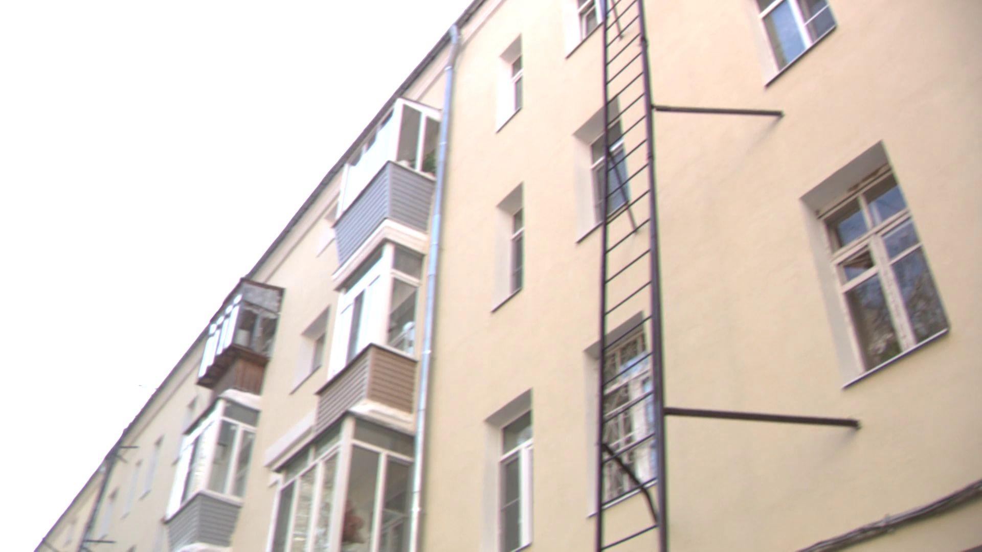 В Ярославле привели в порядок четырехэтажку 1945 года постройки