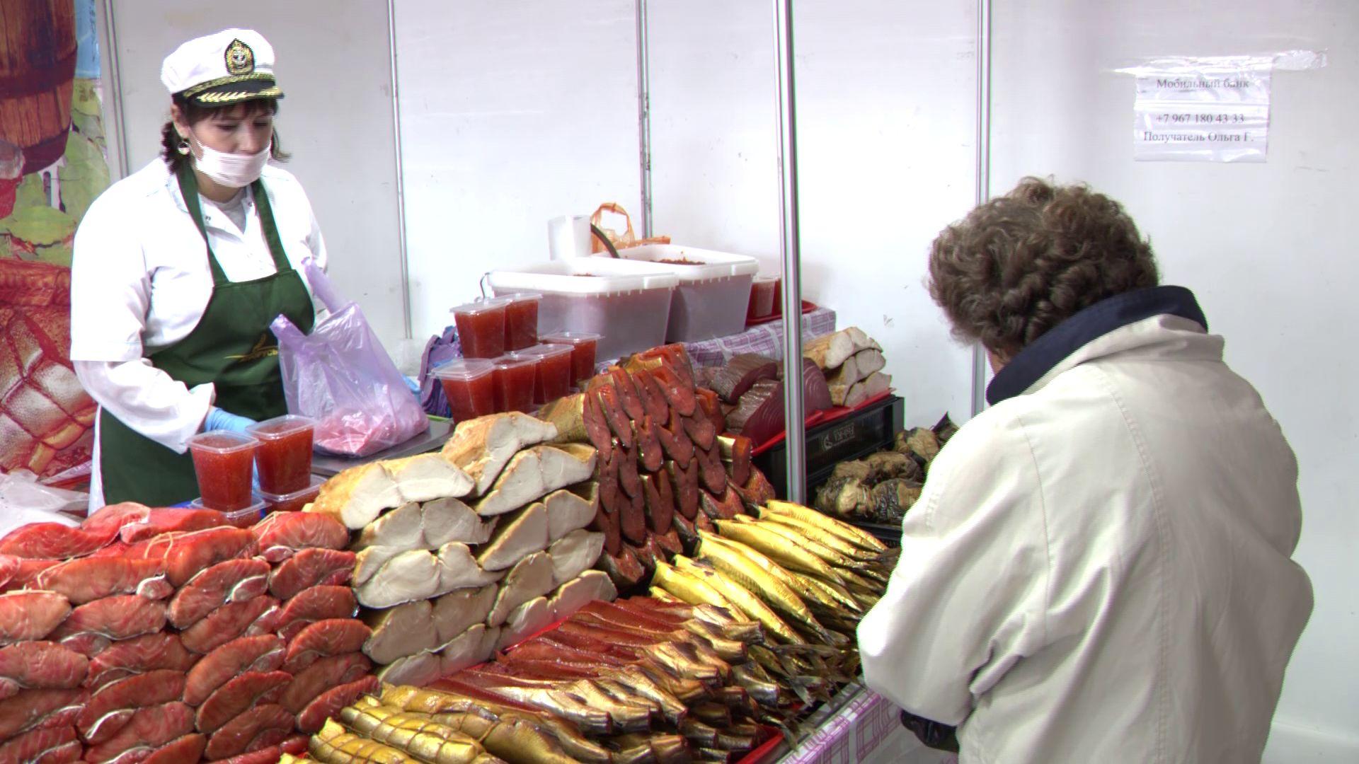 В Ярославле проходит выставка деликатесов с Камчатки