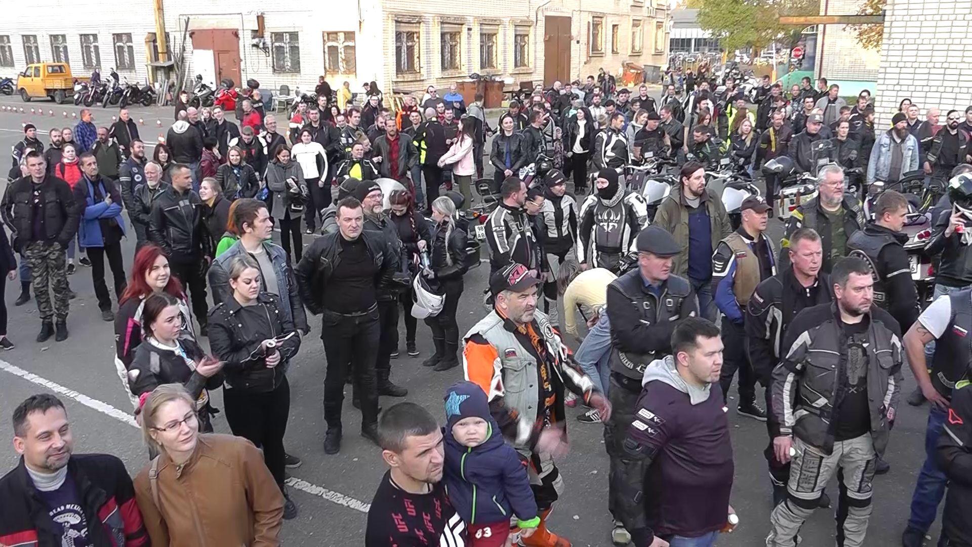 В Ярославле громко отметили закрытие мотосезона-2020