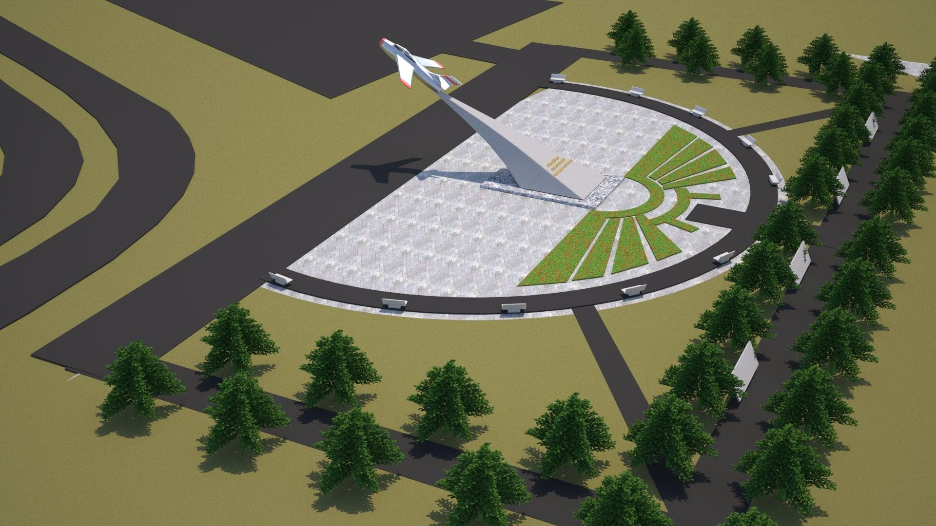 В Ярославле может появиться парк с реактивным самолетом на постаменте и памятным мемориалом