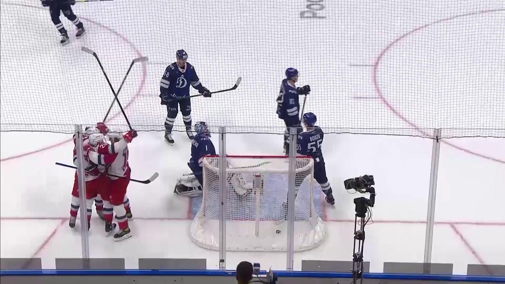 «Локомотив» на родном льду сыграет с «Динамо»