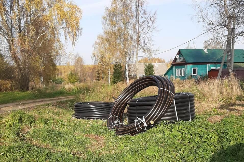 В Некрасовском районе строят газопровод высокого давления