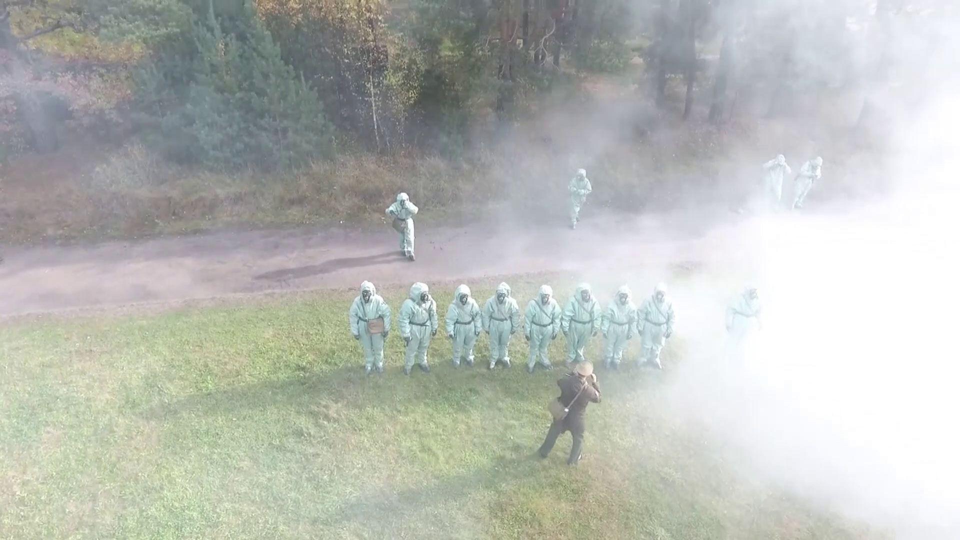 В воинской части на Шевелюхе прошли комплексные военные учения