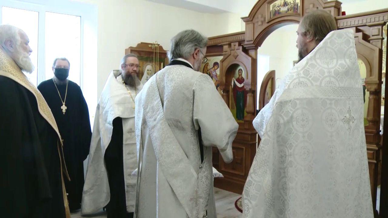 В Ярославской областной больнице появился храм