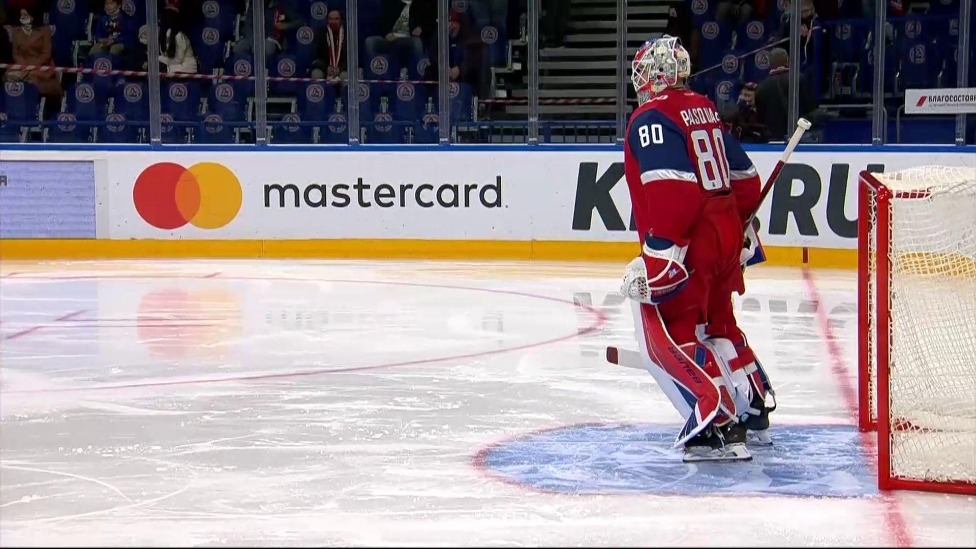 Вратарь и защитник «Локомотива» стали лучшими за последние семь дней в КХЛ