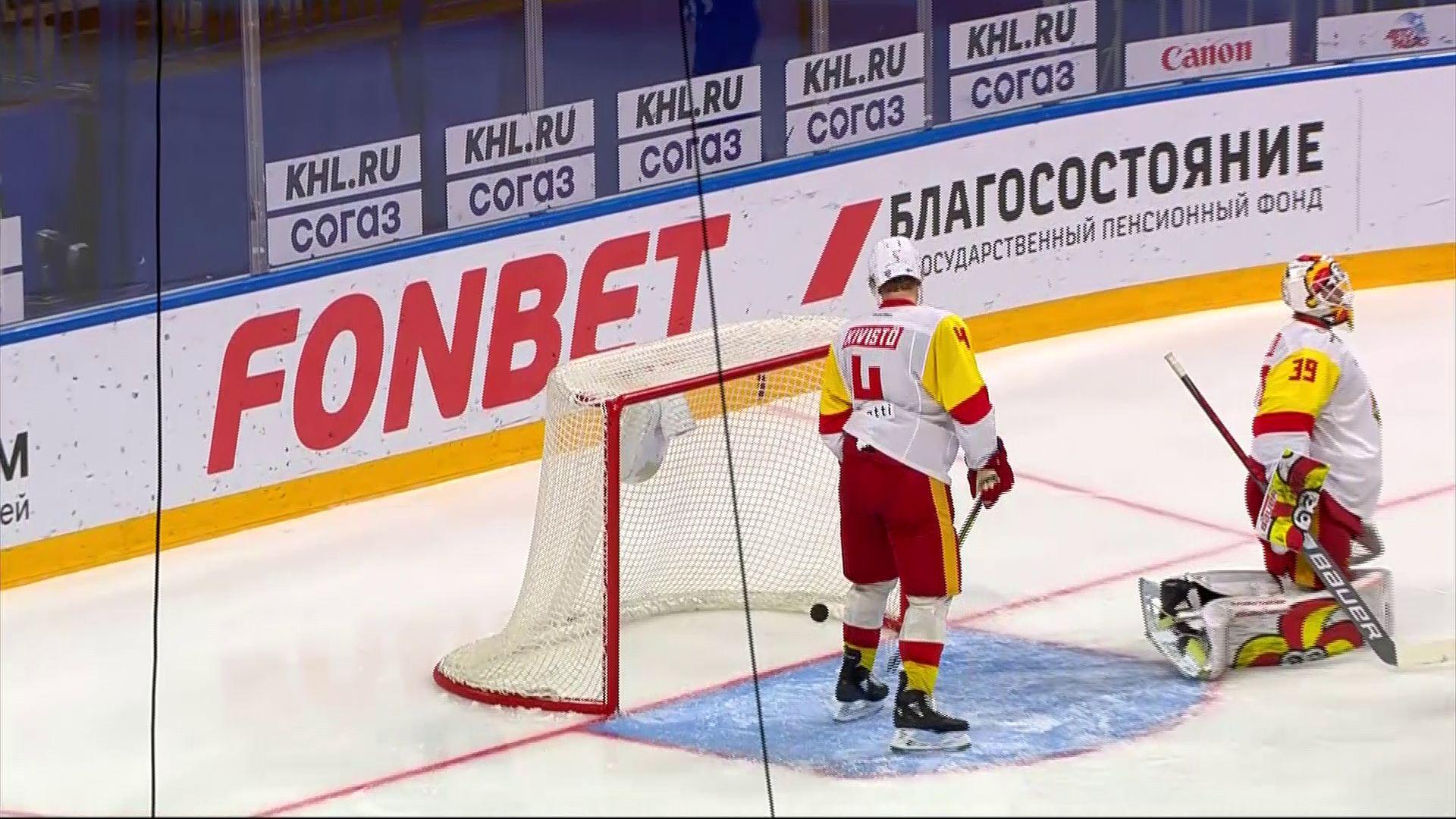 «Локомотив» на выезде выиграл у «Йокерита»