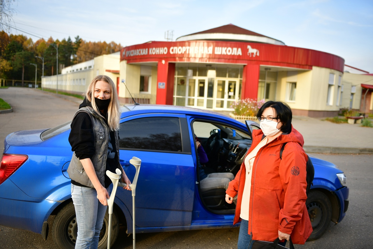 Ярославских автоволонтеров поддержал строящийся мебельный центр