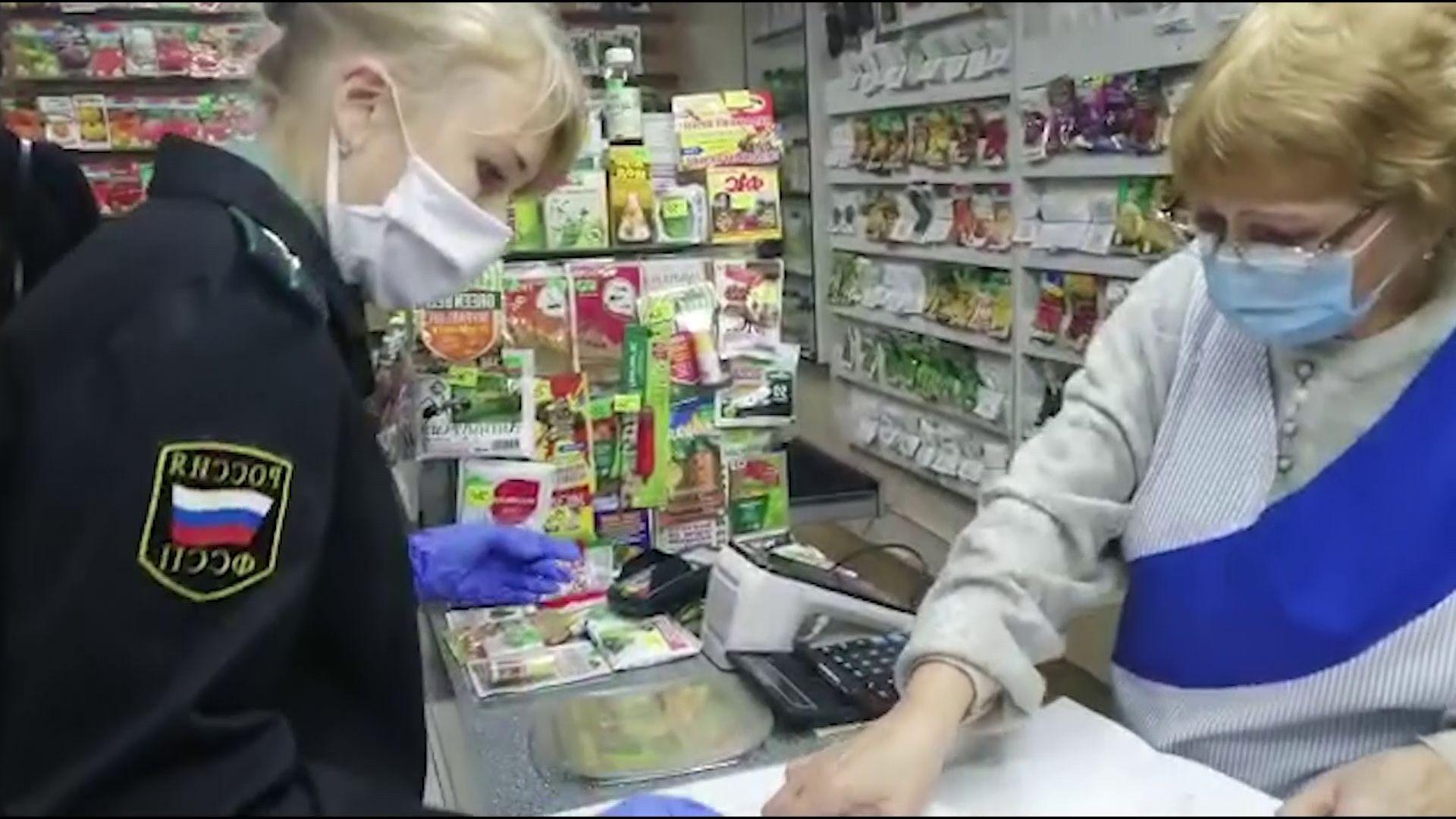 Приставы арестовали кассу ярославского магазина