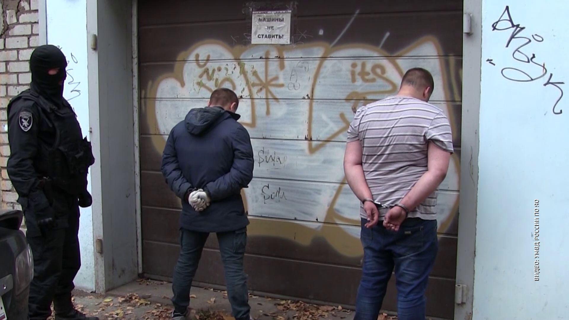 В Ярославле силовики задержали банду грабителей, которые ограбили офис микрозаймов