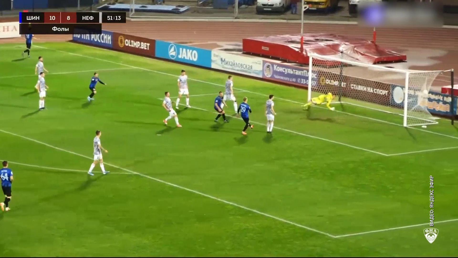 Ярославский «Шинник» опустился на последнюю строчку в таблице чемпионата ФНЛ
