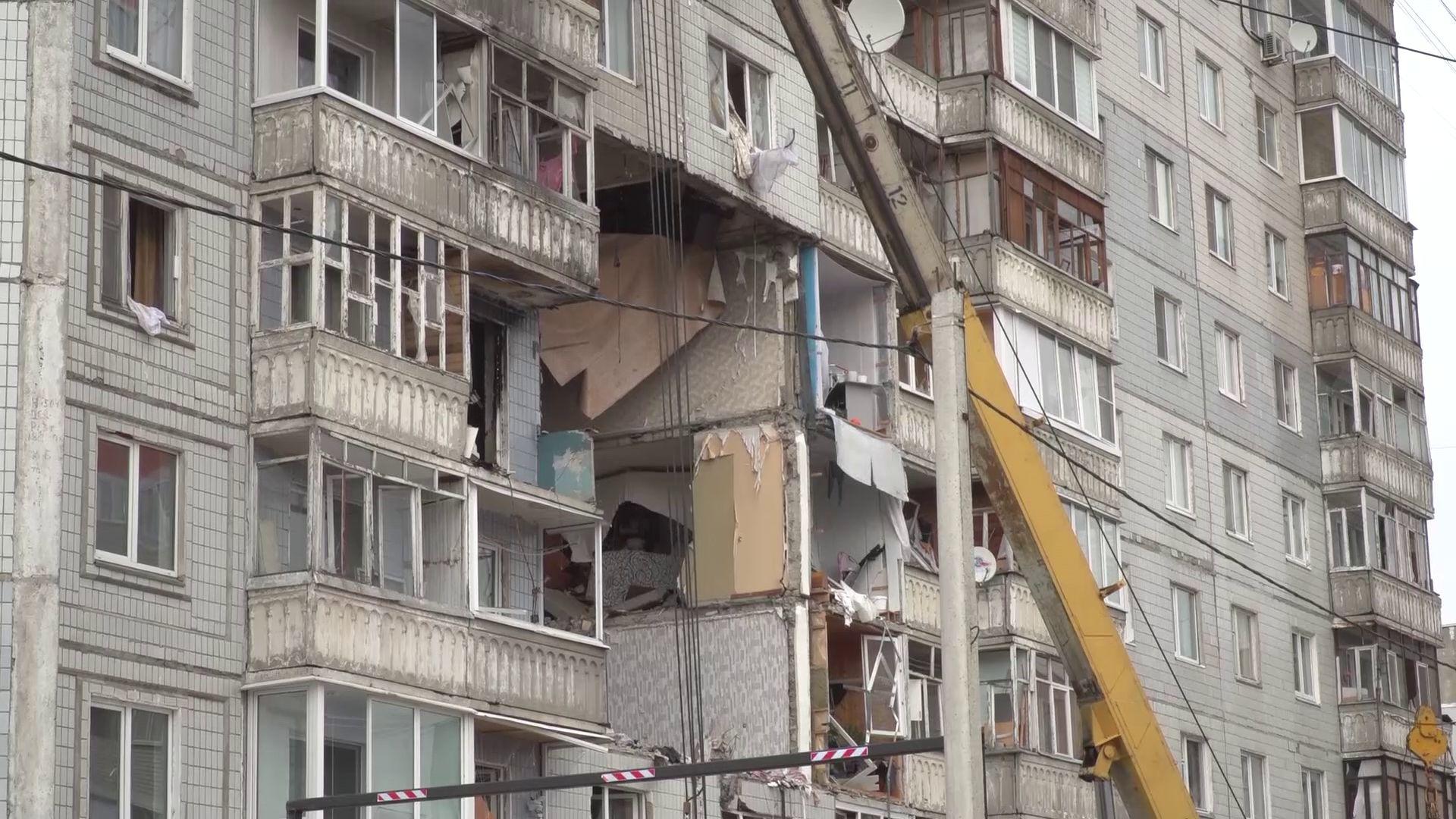 Жильцы взорвавшегося дома на Батова скоро отпразднуют новоселье