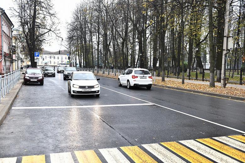 Мэр Ярославля высоко оценил качество ремонта улицы Пушкина