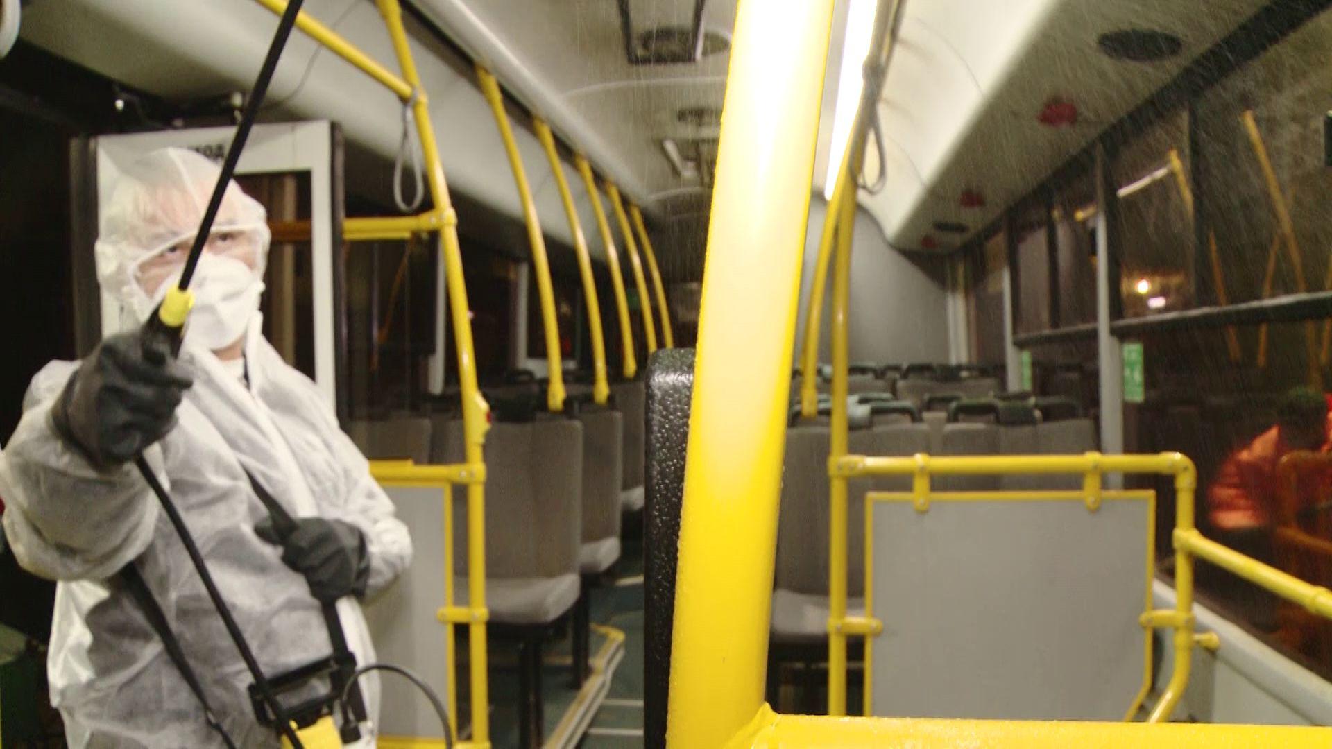 В Ярославле дезинфицируют общественный транспорт