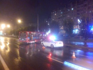 В Ярославле маршрутка попала в ДТП, пострадали три человека