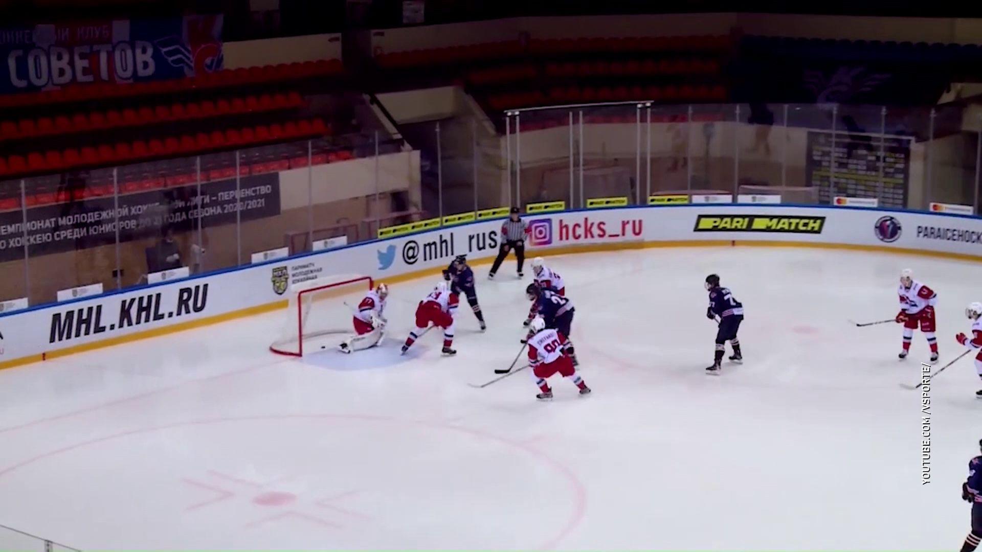 «Локо» выиграл в гостях у столичных «Крыльев Советов» в матче чемпионата МХЛ
