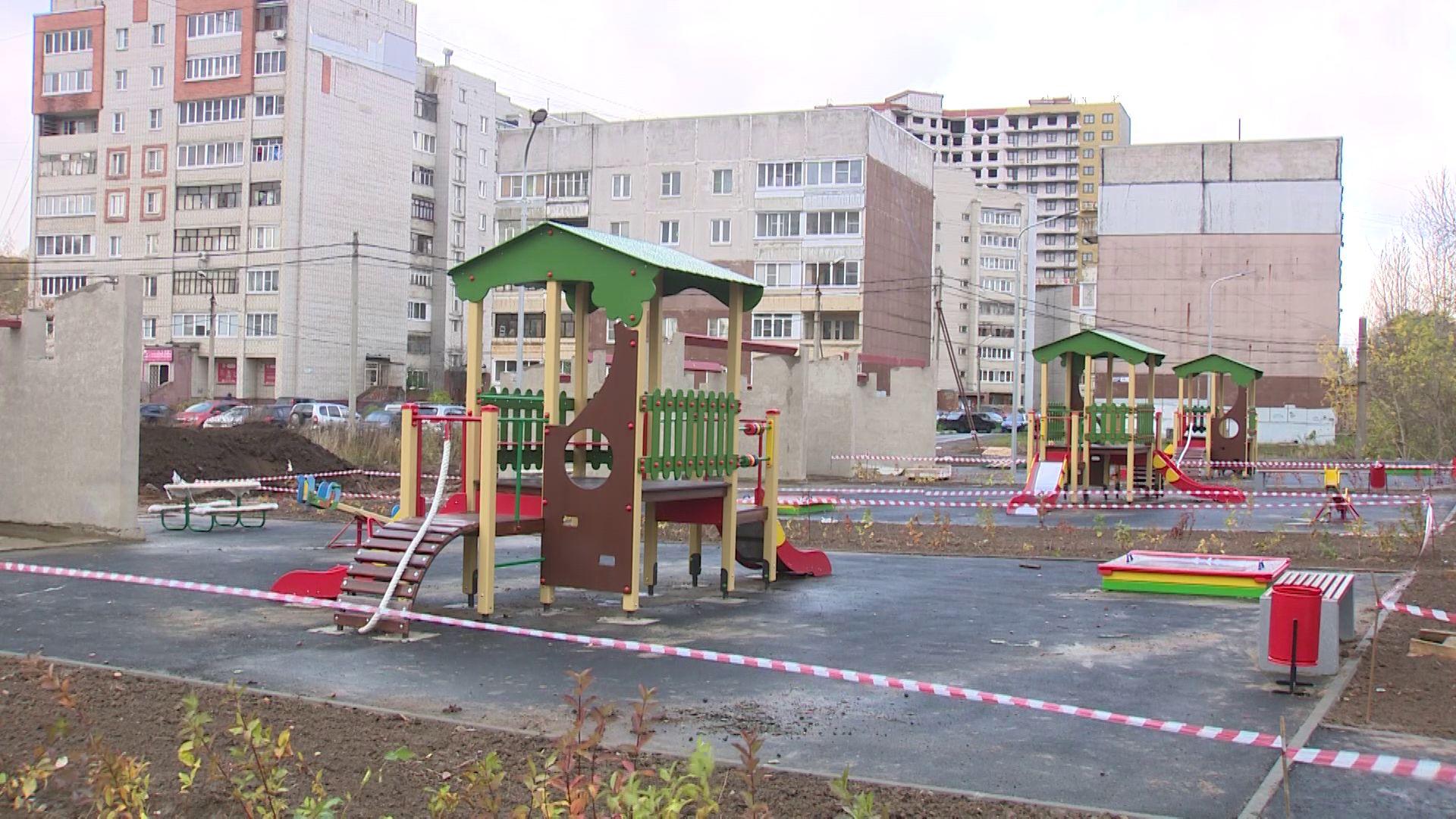Во Фрунзенском районе активно развивается инфраструктура