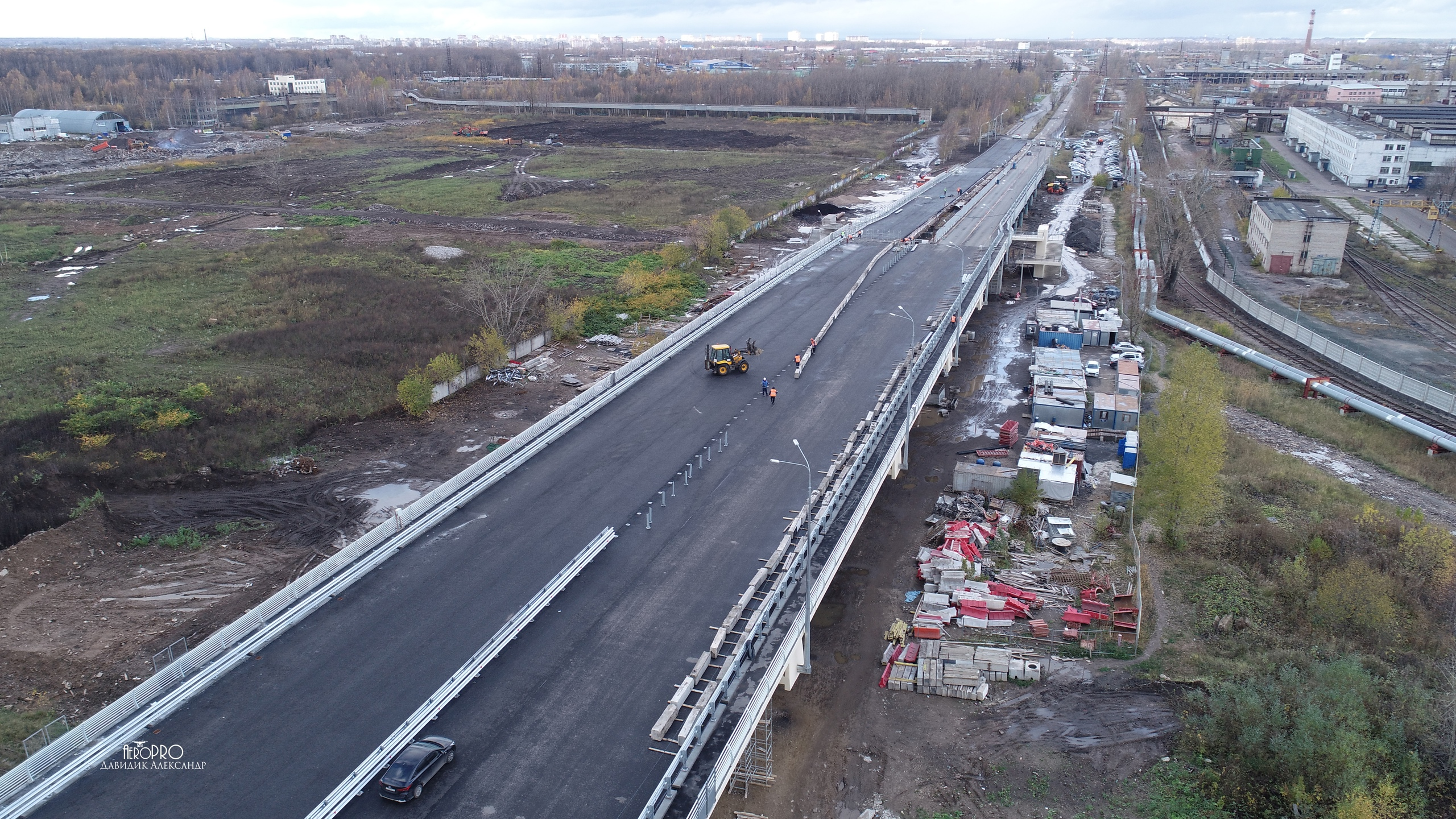 Ярославец показал, как Добрынинский путепровод выглядит с воздуха