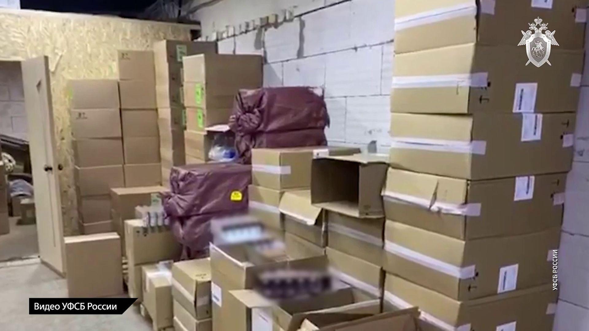 Более миллиона пачек нелегальных сигарет обнаружили Ярославской области