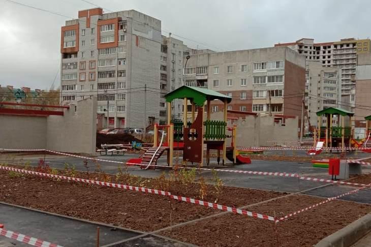 Детский сад на Губкина готов более чем на 60%
