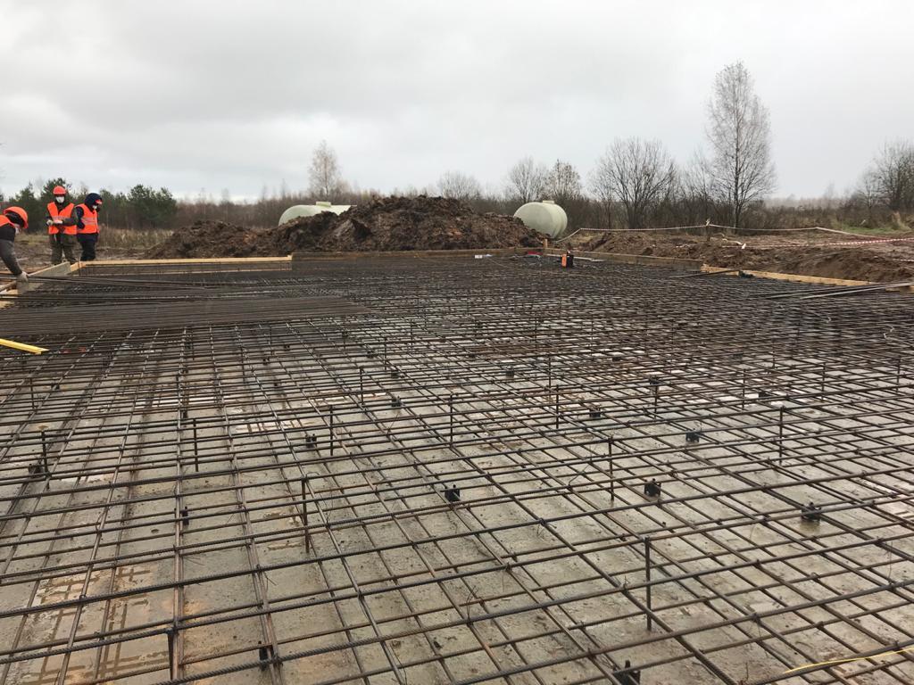 В Рыбинском районе начали строить очистные сооружения