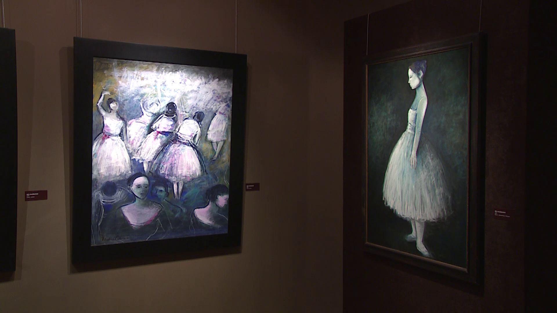 Выставка Франческо Караччи открылась в Музее зарубежного искусства