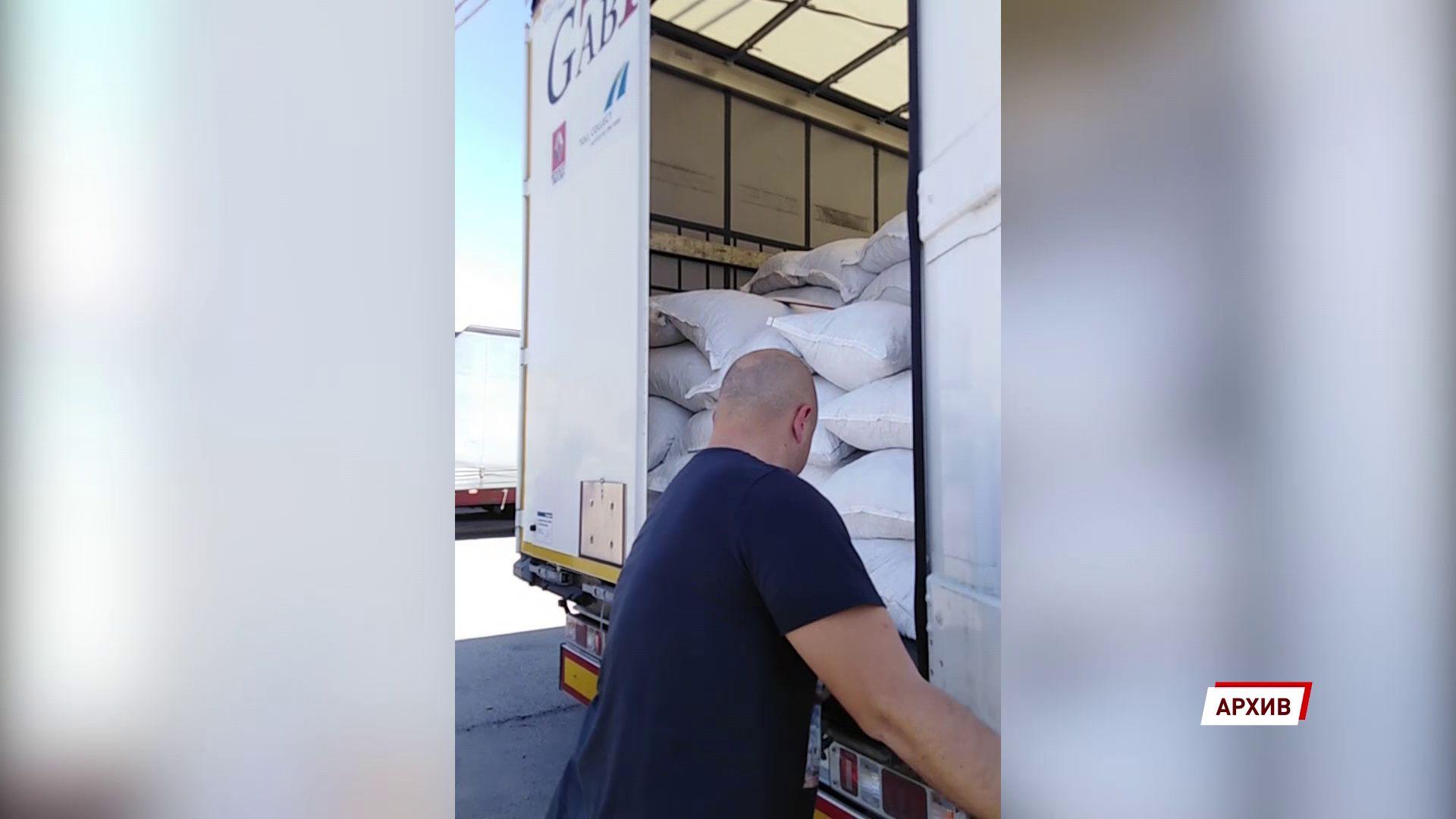 В область ввезли больше тысячи тонн зерна с поддельными документами