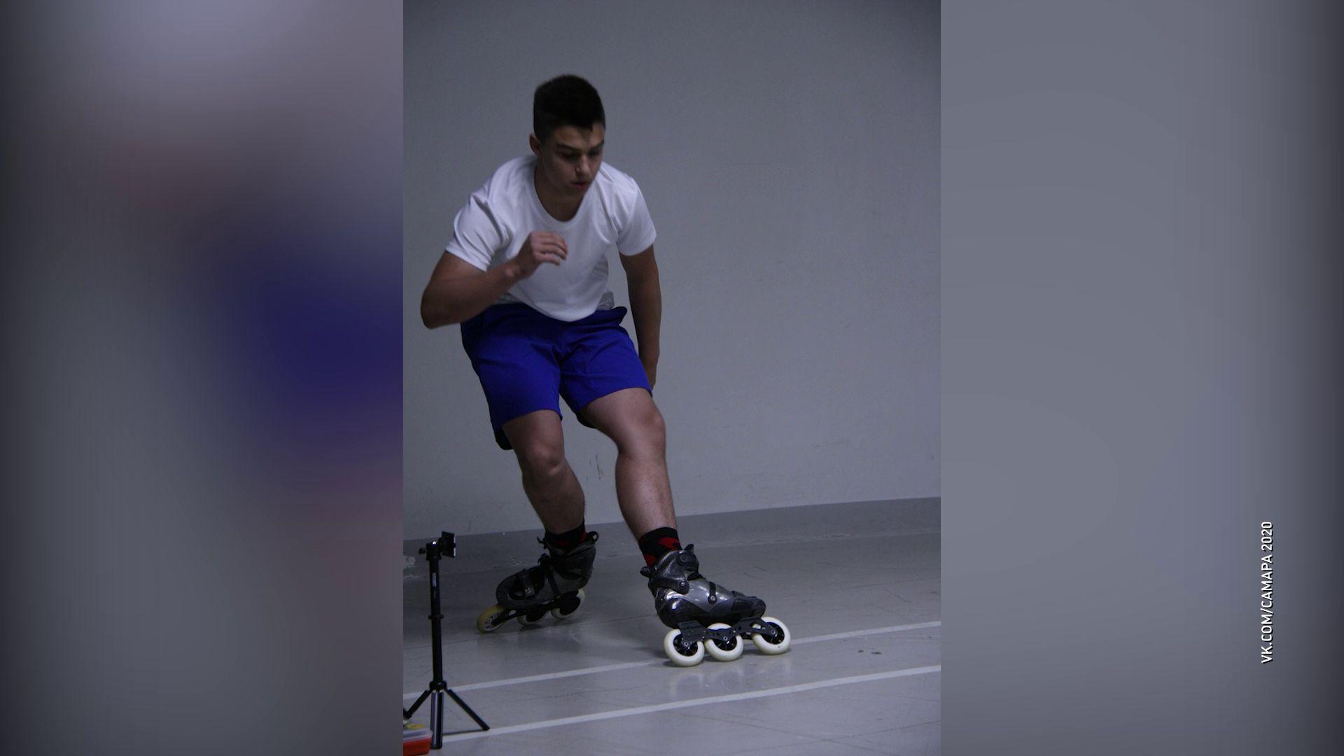 Ярославец стал лучшим на соревнованиях по фристайлу на роликах