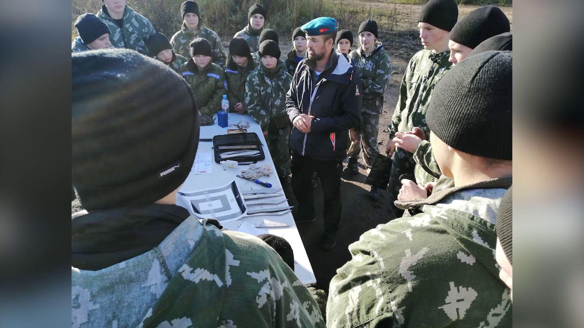 В Ярославле прошел семинар по спортивному метанию ножа