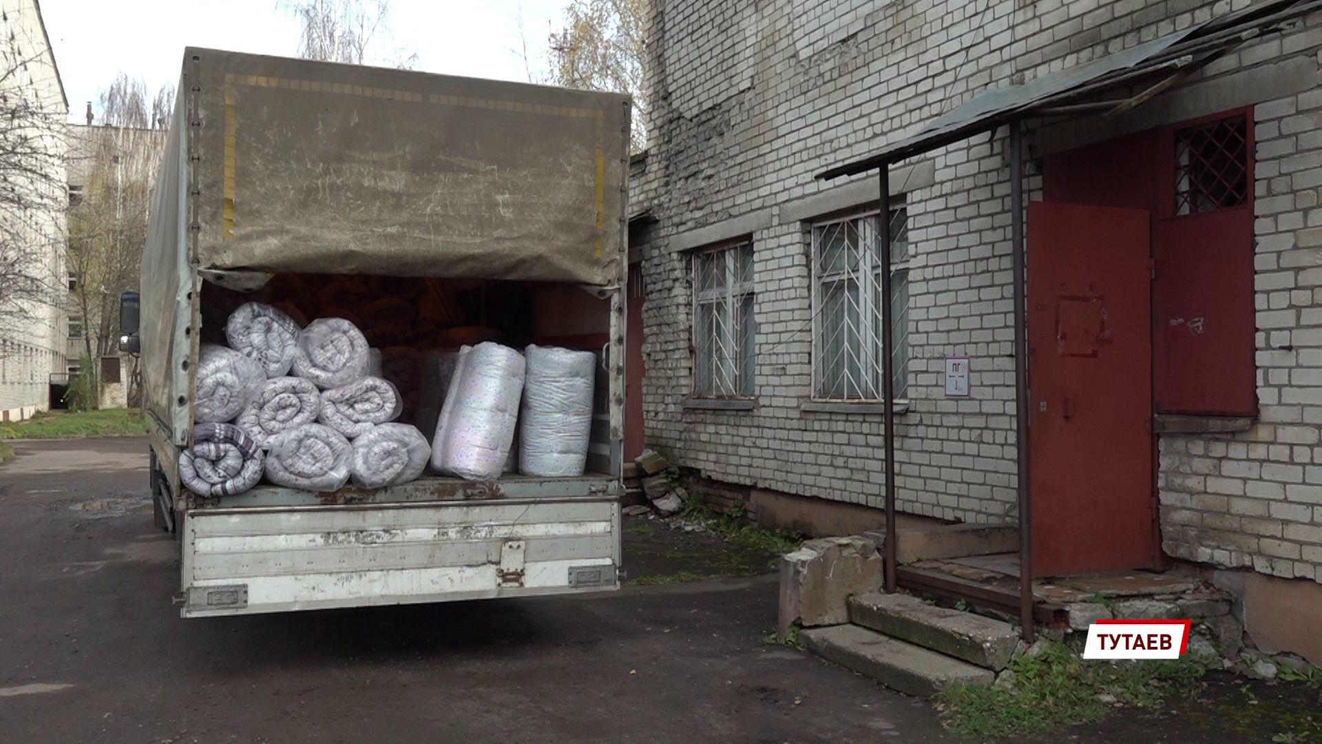 Тутаевскую ЦРБ, которая принимает больных коронавирусом, поддержали местные предприятия