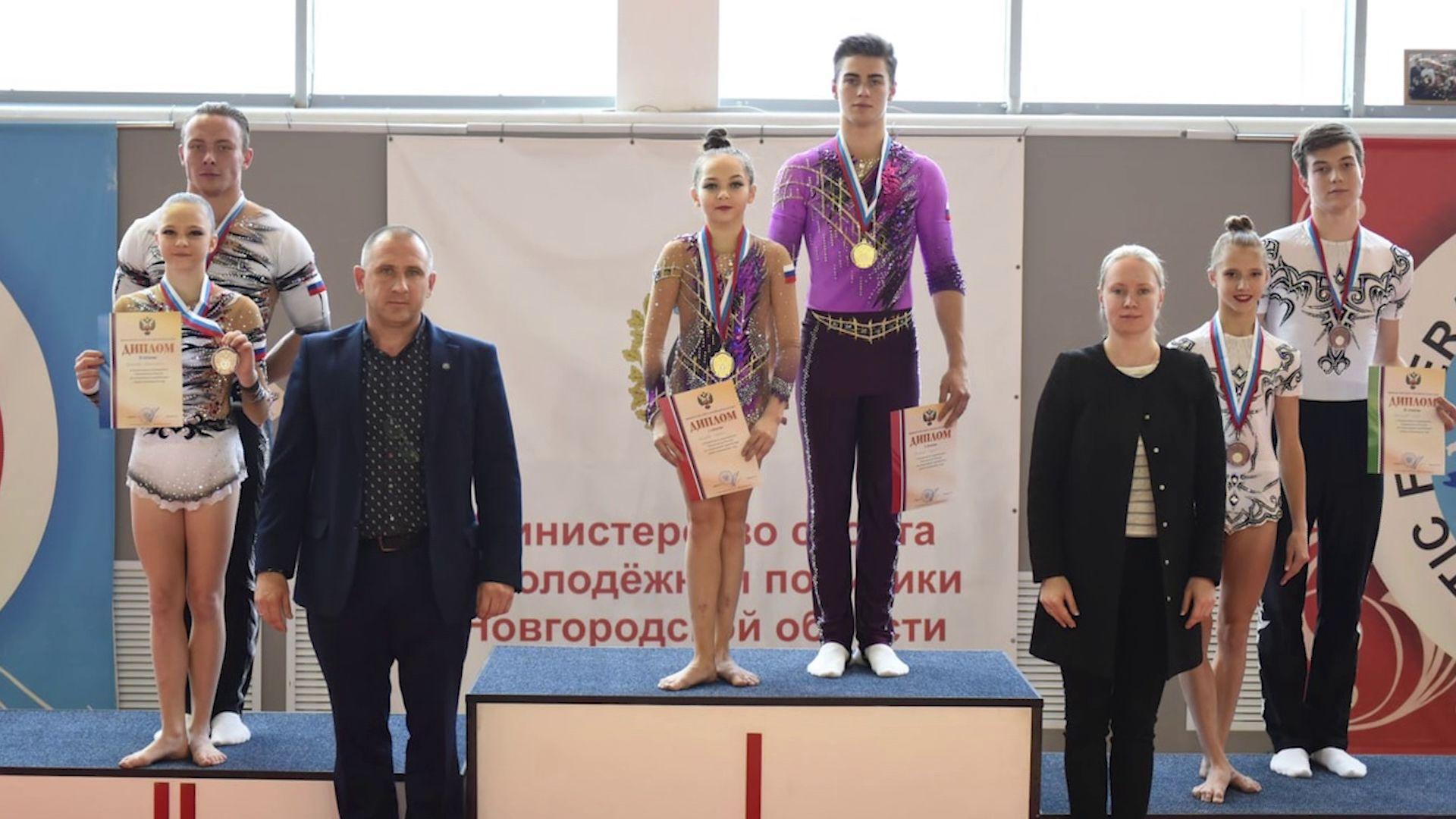Смешанная пара из Ярославля стала лучшей на чемпионате страны по спортивной акробатике