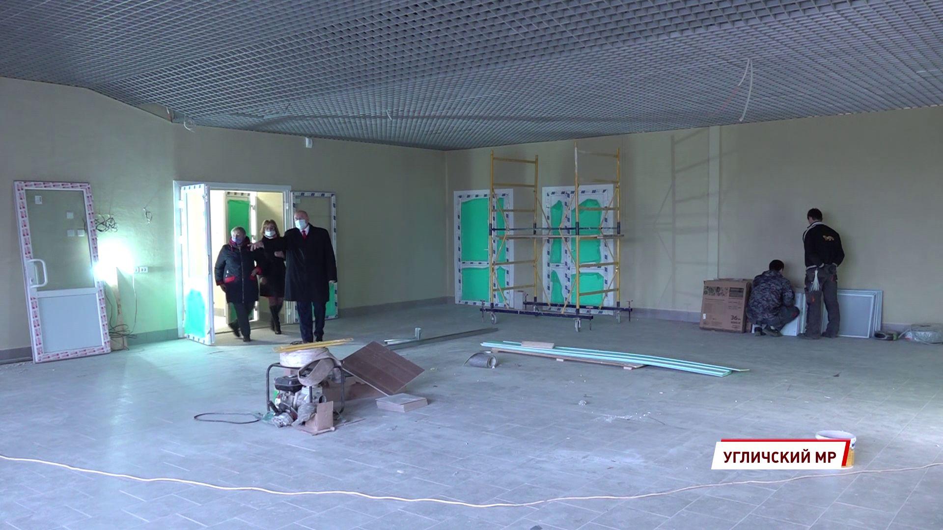 В Отрадном отстроили новый Дом культуры