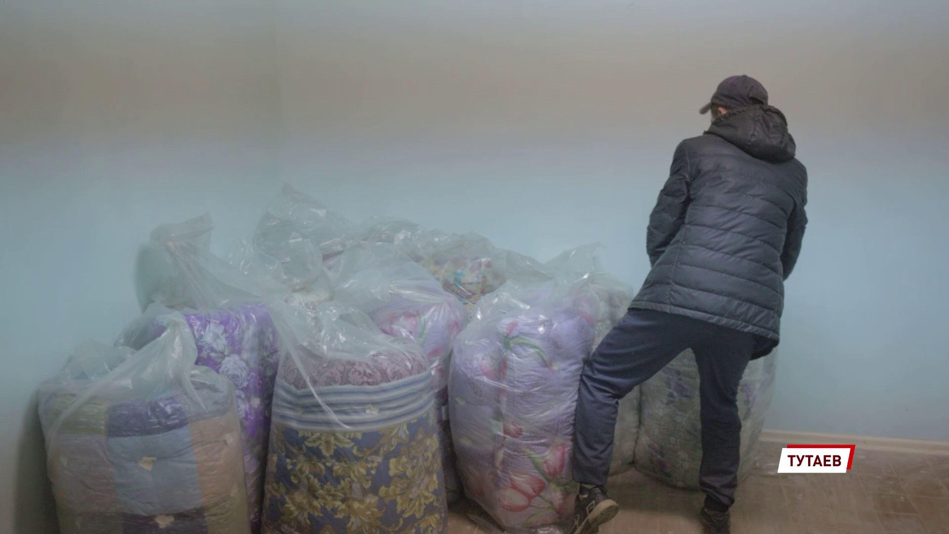 Тутаевское предприятие передало в местную ЦРБ новые матрасы, подушки и одеяла