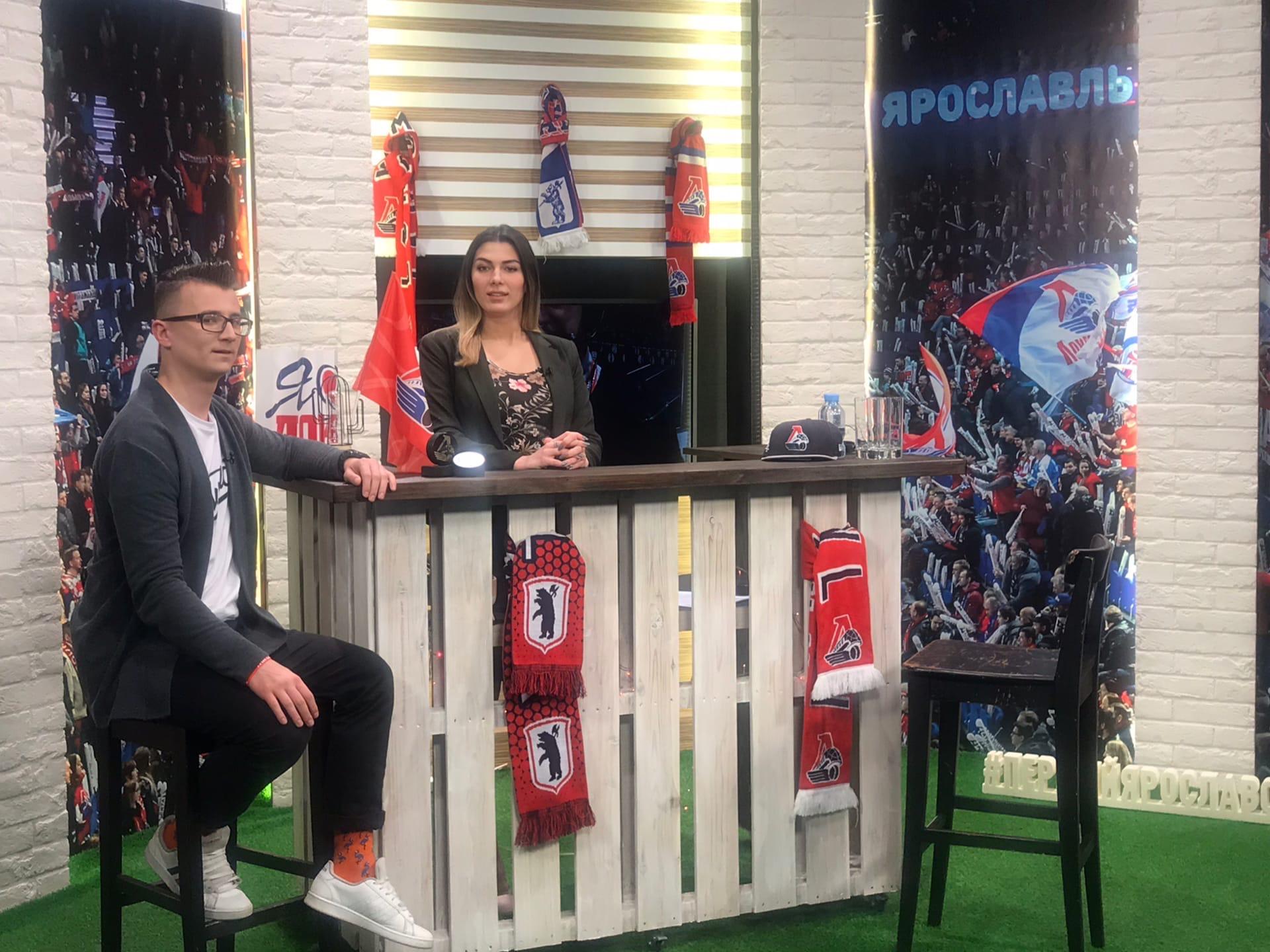 Большой хоккейный вечер в Ярославле: телемарафон «Первого Ярославского»