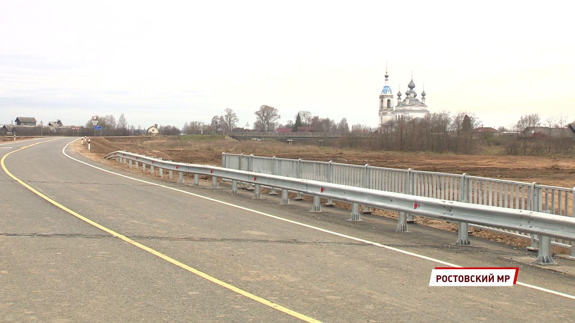 В Ростовском районе построили новый мост