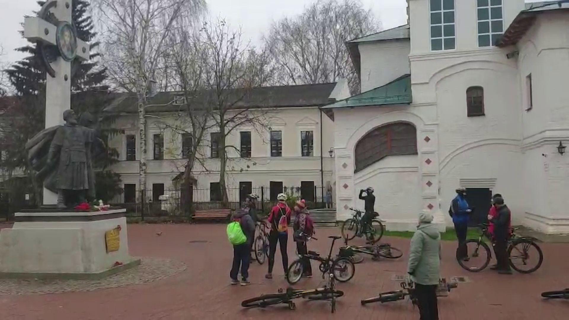 В Ярославле состоялся исторический велоквест «Ярославский путь»