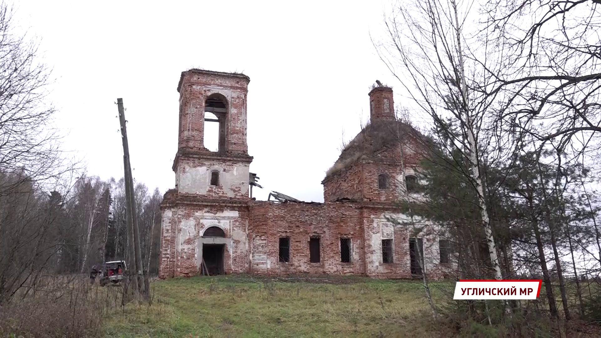 В Угличском районе усадьба Тютчевых обретает вторую жизнь