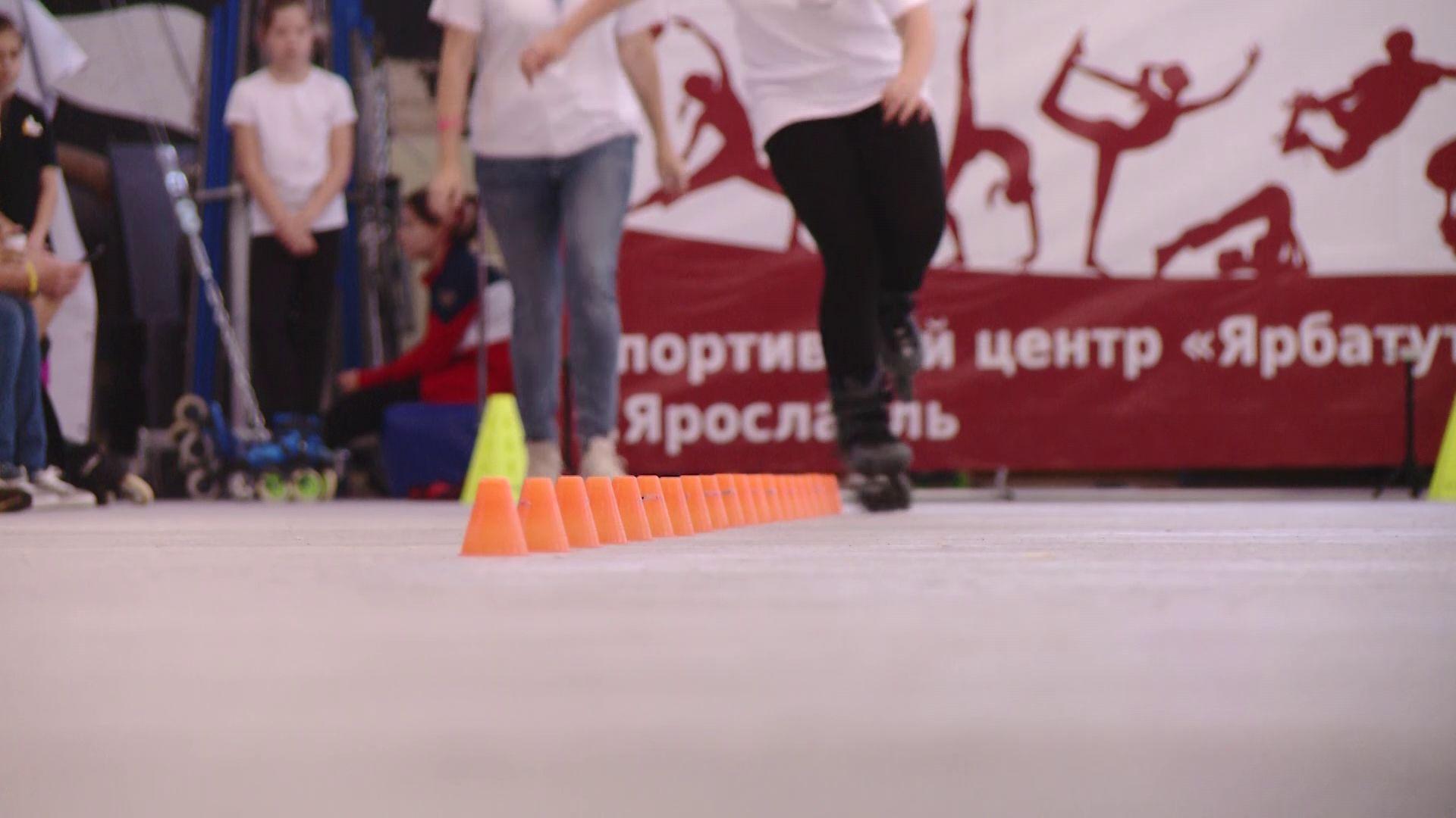 Ярославец побил собственное достижение на чемпионате страны по роллер-спорту