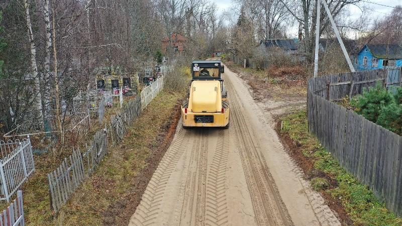 В Рыбинске ремонтируют дорогу, ведущую к «Усть-Шексне»
