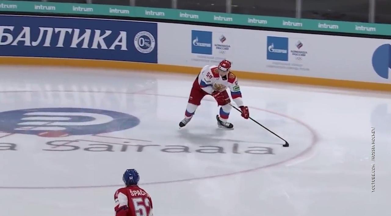 Три матча – три победы: сборная России по хоккею выиграла первый этап Евротура