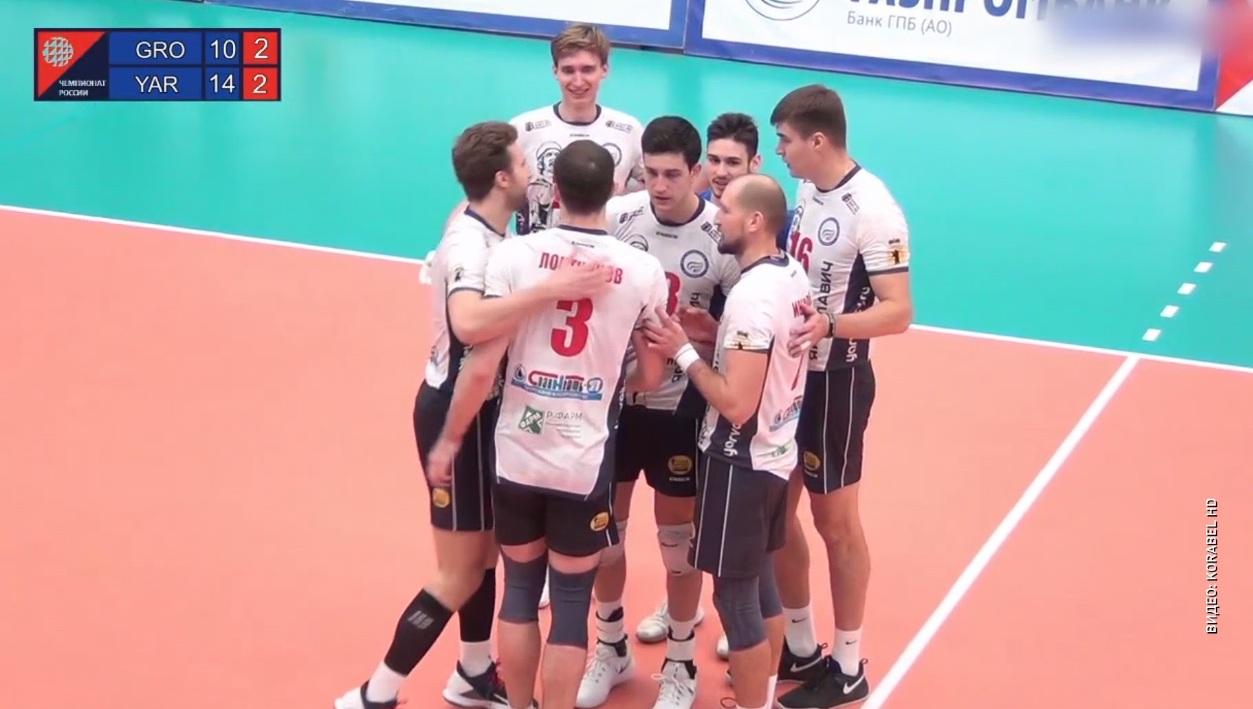 Волейбольный «Ярославич» в пяти сетах разобрался с клубом «Грозный»