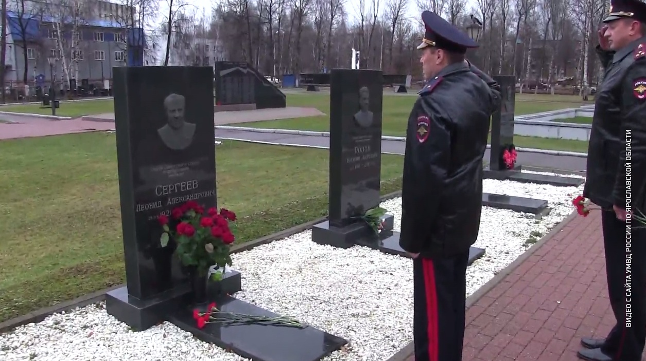 В День полиции сотрудники областного УМВД почтили память коллег, погибших при исполнении служебного долга