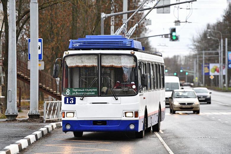 По отремонтированному Тутаевскому шоссе проехал первый троллейбус