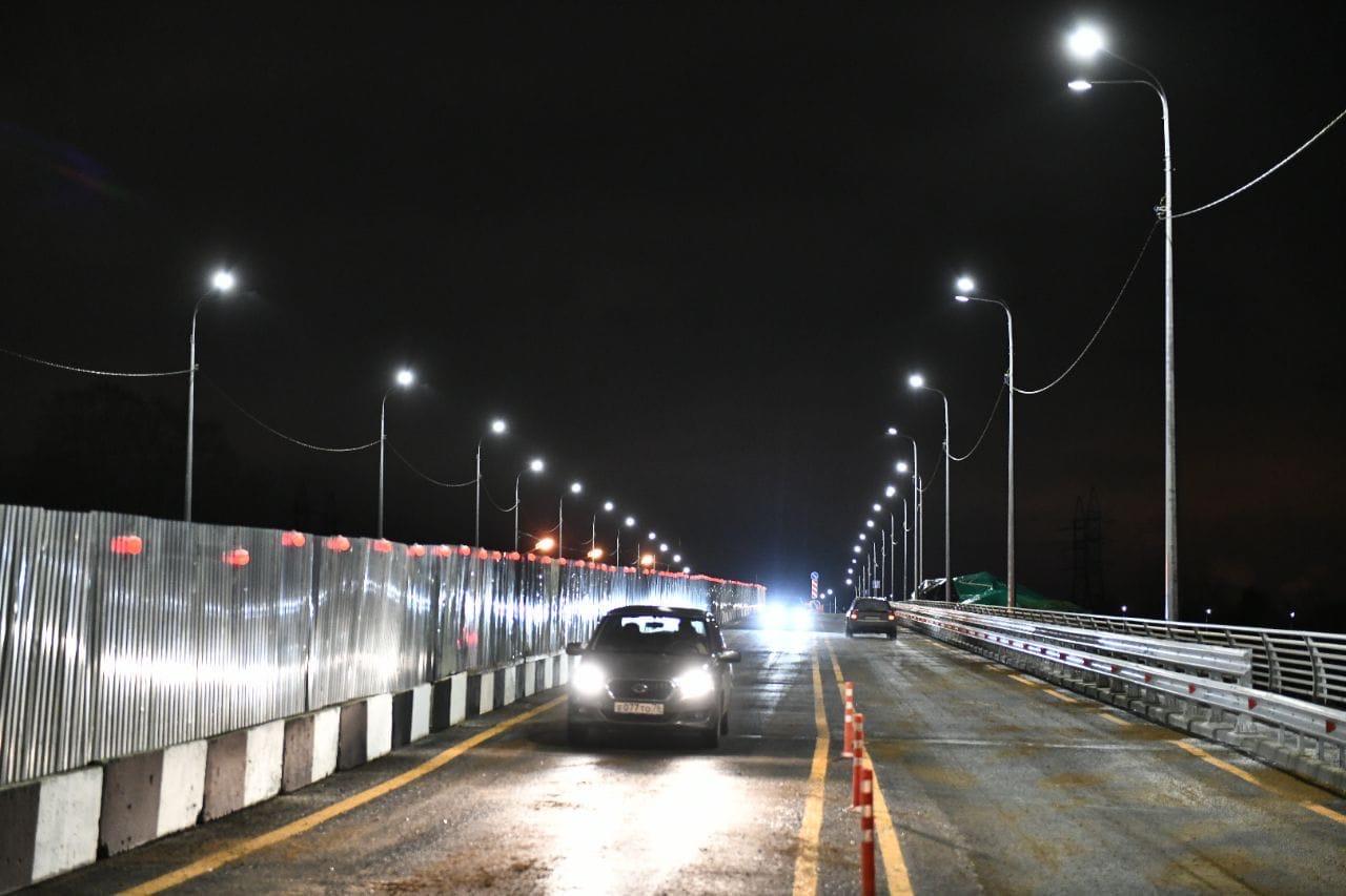 Открылось движение по Добрынинскому мосту в Ярославле